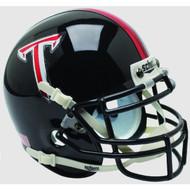 Troy State Trojans Alternate Black Schutt Mini Authentic Helmet