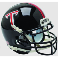 Troy State Trojans Alternate Black Schutt Mini Authentic Football Helmet