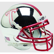 Troy State Trojans Alternate Chrome Schutt Mini Authentic Football Helmet