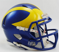 Delaware Blue Hens Revolution NCAA SPEED Mini Helmet