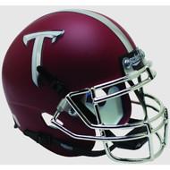 Troy State Trojans Alternate Matte Crimson Schutt Mini Authentic Helmet