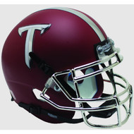 Troy State Trojans Alternate Matte Crimson Schutt Mini Authentic Football Helmet