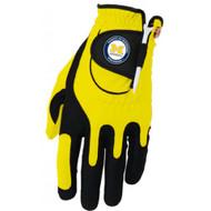 Zero Friction NCAA Michigan Wolverines Yellow Golf Glove, Left Hand