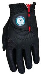 Zero Friction NFL Miami Dolphins Black Golf Glove, Left Hand