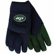 NFL New York Jets Black Deluxe Utility Work Gloves