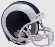 Los Angeles Rams 2017-2019 Throwback Mini Football Helmet by Riddell