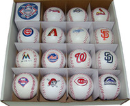 RAWLINGS TEAM REPLICA NL BASEBALL COLLECTOR SET OF 15 (National League)