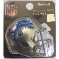 Detroit Lions New 2017 Revolution Mini Pocket Pro Helmet