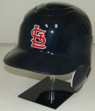 Saint Louis Cardinals Rawlings Coolflo Road Navy LEC Full Size Baseball Batting Helmet
