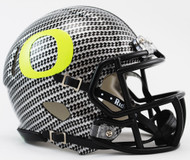 Oregon Ducks NCAA Mini Speed Football Helmet Carbon Fiber HydroFX