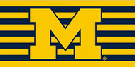 "Michigan Wolverines Fiber 30"" X 60"" Beach Bath Towel"