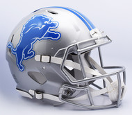 Detroit Lions 2017 Authentic Speed Full Size Football Helmet by Riddell
