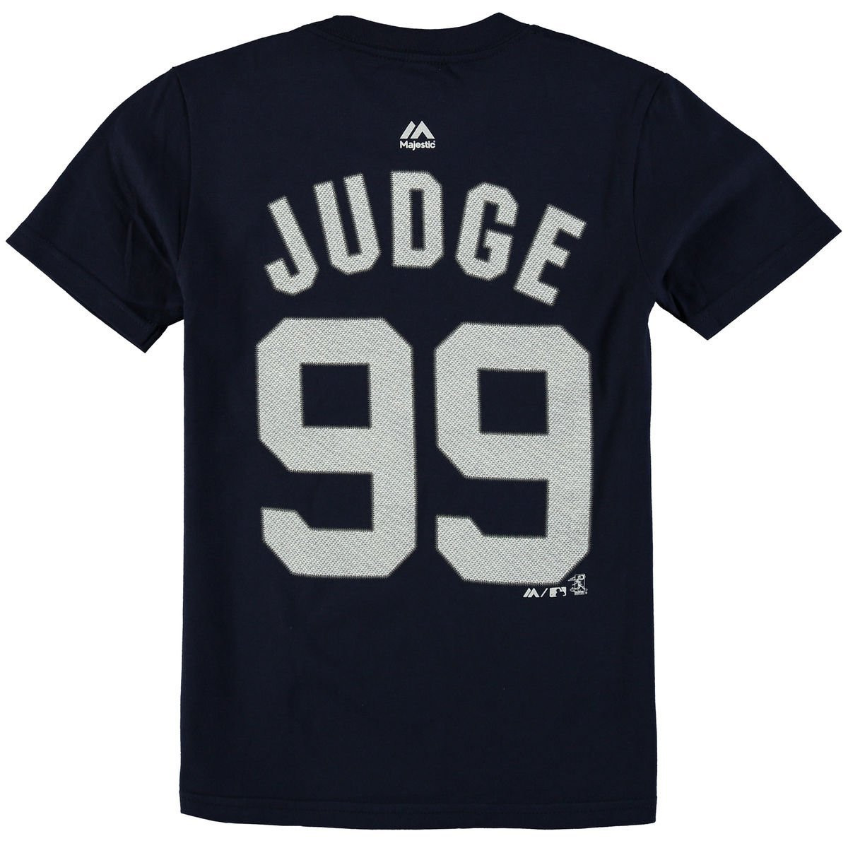 info for 3b236 94f8f Aaron Judge New York Yankees #99 MLB Youth Player Name & Number T-shirt