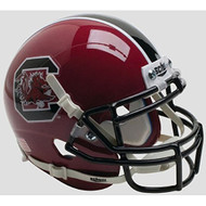 South Carolina Gamecocks Alternate Maroon Garnet Schutt Authentic Mini Helmet