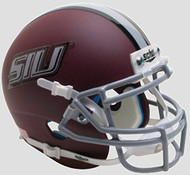 Southern Illinois Salukis Matte Maroon Schutt Authentic Mini Helmet