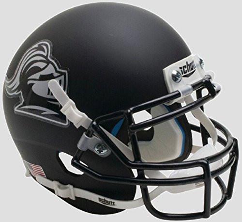 Rutgers Scarlet Knights Matte Black Knight Schutt Authentic Mini Football Helmet