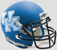 Kentucky Wildcats Alternate Matte Royal Schutt Authentic Mini Football Helmet