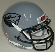 Oregon State Beavers Alternate Grey Schutt Authentic Mini Football Helmet