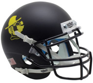 Appalachian State Mountaineers Yosef Black Schutt Mini Authentic Helmet