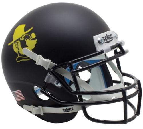 Appalachian State Mountaineers Yosef Black Schutt Mini Authentic Football Helmet