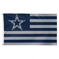 Dallas Cowboys NFL American Flag 3 foot by 5 Foot