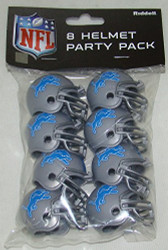 Detroit Lions 2017 Logo Gumball Party Pack Helmets (Pack of 8)
