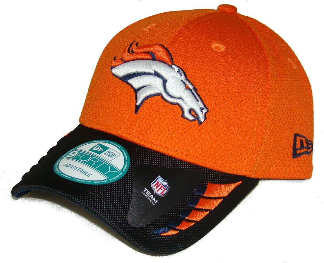DENVER BRONCOS New Era 9FORTY NFL ADJUSTABLE BASEBALL HAT   CAP. New Era.  Image 1 357f6fa20502