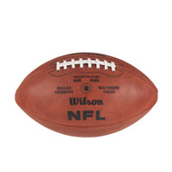 Super Bowl V (Five 5) Dallas Cowboys vs. Baltimore Colts Official Leather Authentic Game Football by Wilson