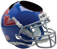 Mississippi Ole Miss Rebels Powder Blue Mini Helmet Desk Caddy by Schutt
