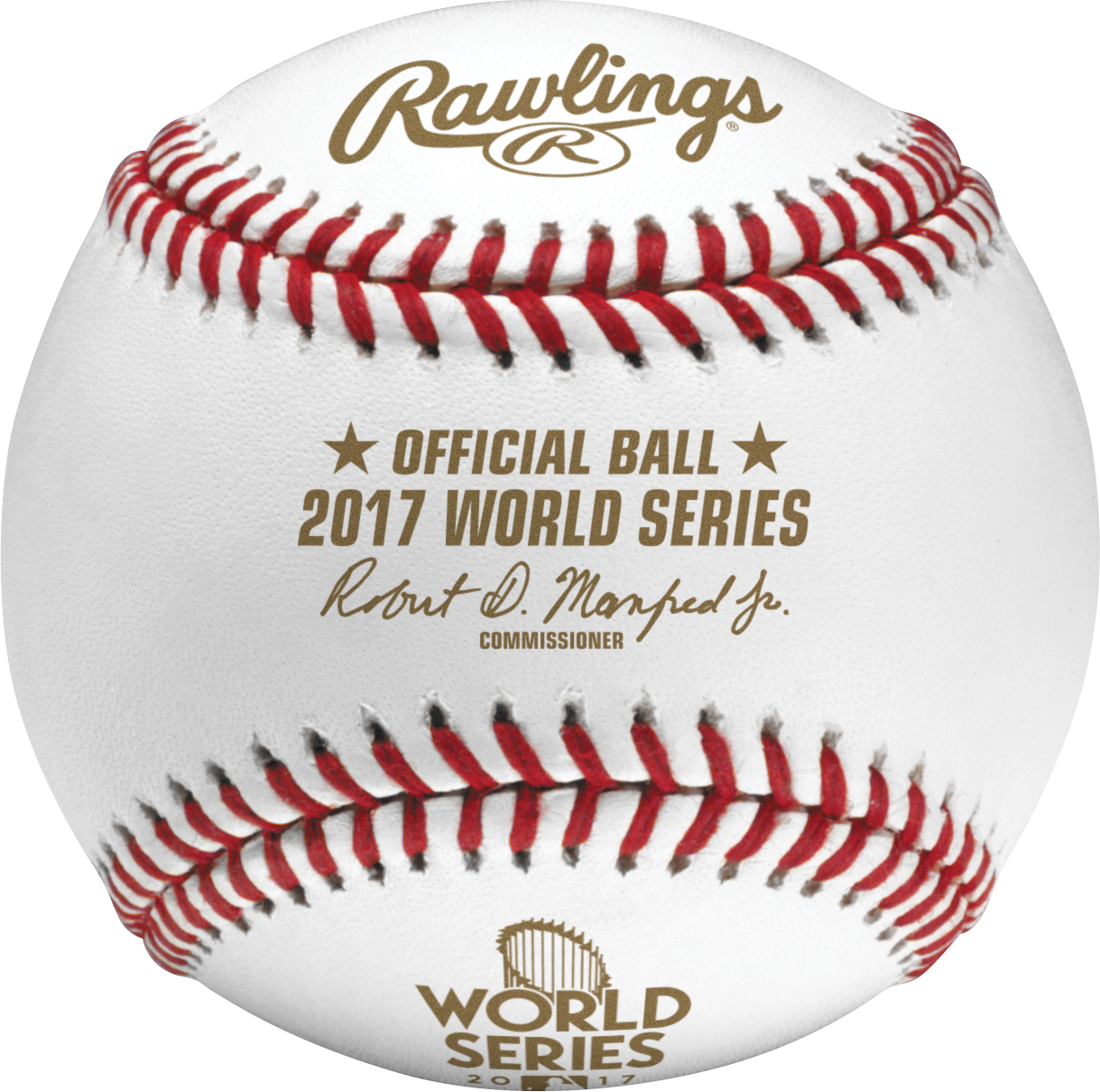 444cec11c 2017 World Series MLB Rawlings Official Baseball - Collectible Supplies