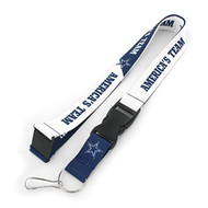 NFL Dallas Cowboys Slogan Lanyard Fan Keychain