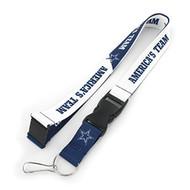 NFL Dallas Cowboys Slogan Lanyard Fan Keychain