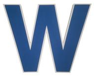 Chicago Cubs (W) 3D Fan Foam Logo Sign