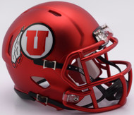 Utah Utes Red 2017 Revolution NCAA SPEED Mini Helmet