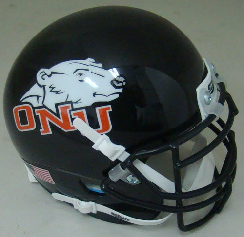 Ohio Northern Polar Bears Schutt Mini Authentic Football Helmet