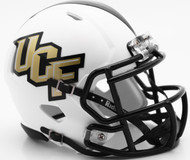 UCF Knights Matte White SPEED Mini Helmet