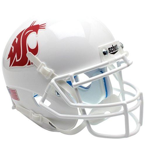 Washington State Cougars White Schutt Full Size Replica XP Football Helmet