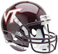 Virginia Tech Hokies Schutt Full Size Replica XP Football Helmet