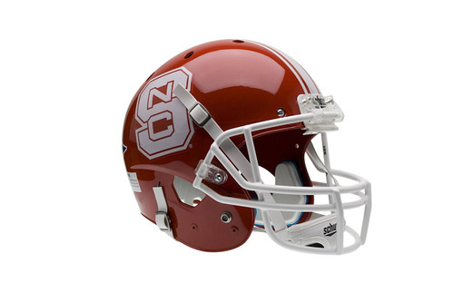 North Carolina State Wolfpack Alternate Red Schutt Full Size Replica XP Football Helmet
