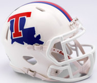 Louisiana Tech Bulldogs White Revolution SPEED Mini Helmet