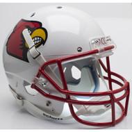 Louisville Cardinals Red Mask Schutt Full Size Replica Helmet