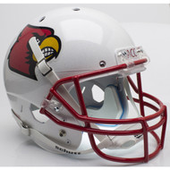 Louisville Cardinals Red Mask Schutt Full Size Replica XP Football Helmet