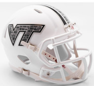 Virginia Tech Hokies 2017 Stone Decal NCAA Riddell Speed Mini Helmet