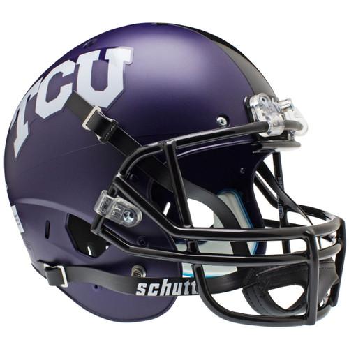 TCU Texas Christian Horned Frogs Alternate Matte Schutt Full Size Replica XP Football Helmet