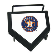 MLB Houston Astros Home Plate 4-pack Coaster Set