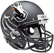 Boise State Broncos Alternate 4 (Matte Black) Schutt Full Size Replica XP Football Helmet