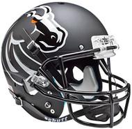 Boise State Broncos Alternate 4 (Matte Black) Schutt Full Size Replica XP Football Helmet