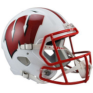 Wisconsin Badgers SPEED Riddell Full Size Replica Helmet