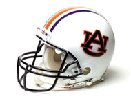 Auburn Tigers Riddell Full Size Authentic Proline Helmet