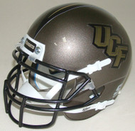 UCF Knights Pewter Schutt Mini Authentic Helmet